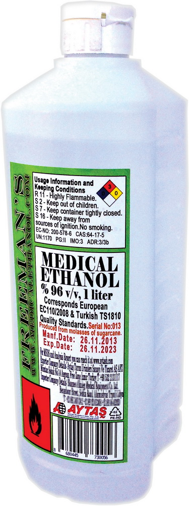 a bottle of ethanol 95 an antiseptic essay